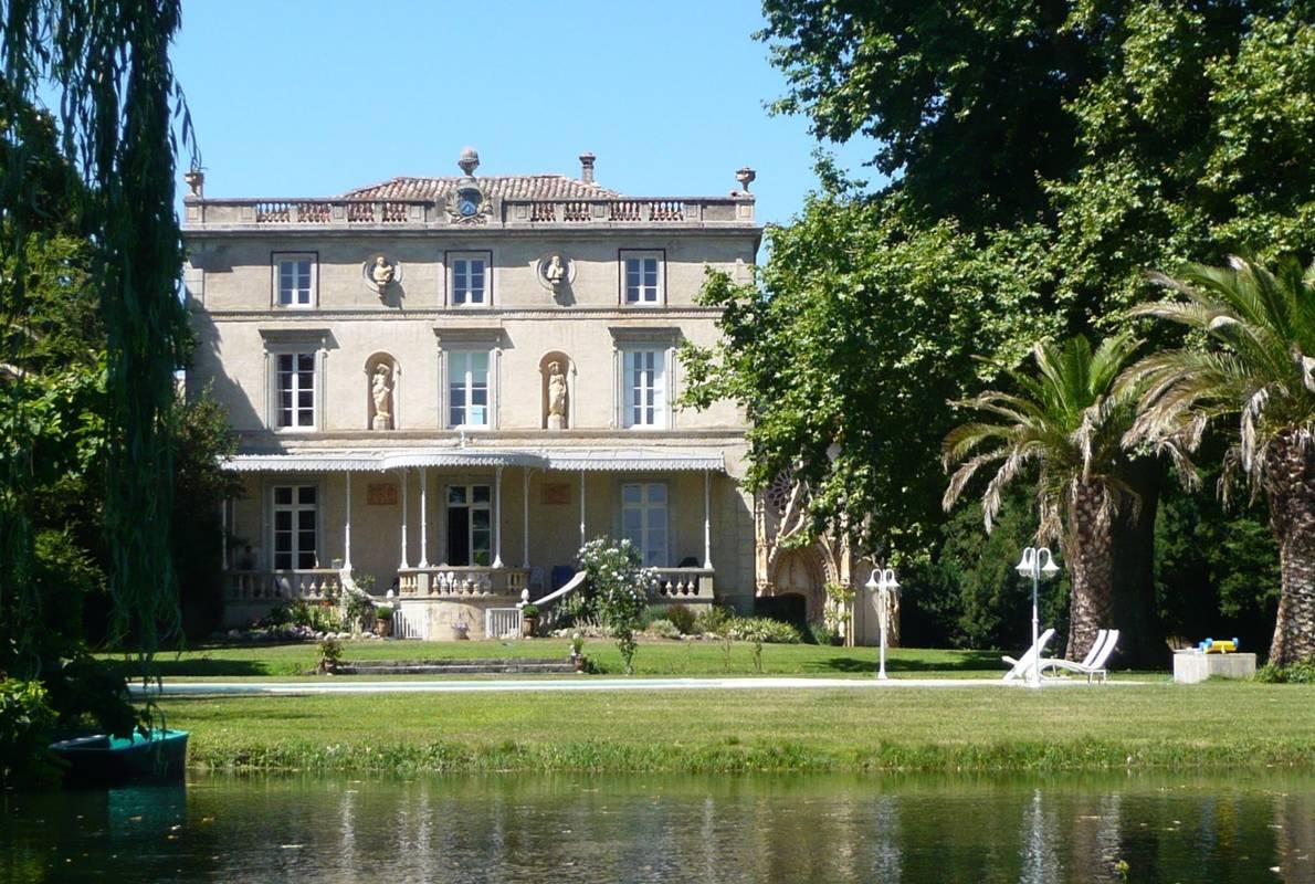 a vendre aude carcassonne proche carcassonne chateau d 233 pendances 233 tang chapelle piscine