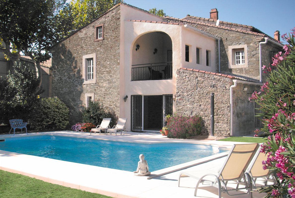 A vendre aude minervois maison vigneronne 10 pi ces for Gite aude piscine
